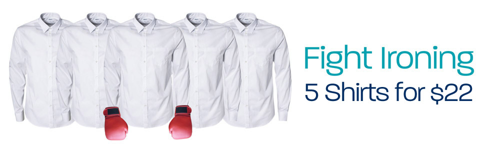 Fight ironing - 5 shirts for $20